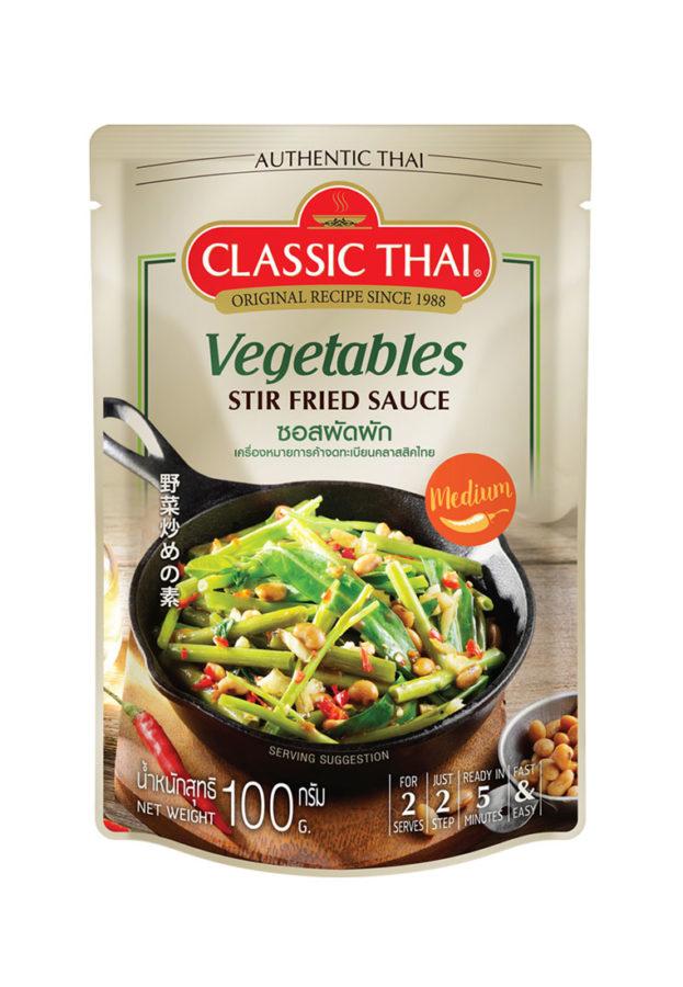 Vegetable Stir Fried Sauce